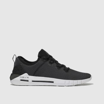 Under Armour Black & White Hovr Slk Mens Trainers