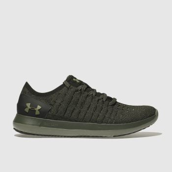 Under Armour Khaki Slingride 2 Mens Trainers