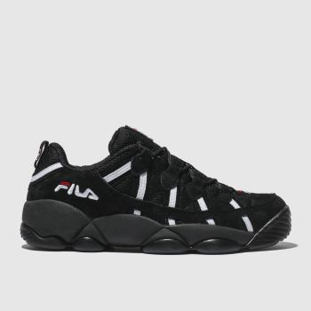 Fila Black Spaghetti Low Mens Trainers