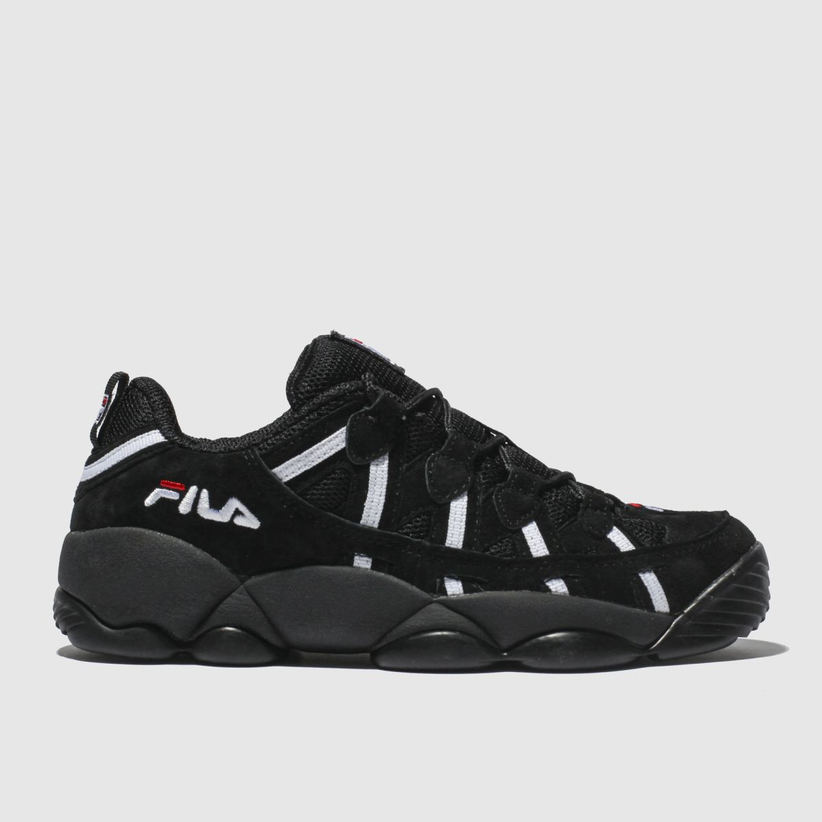 Fila Black Spaghetti Low Trainers