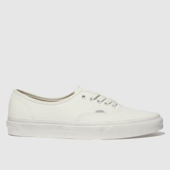 Vans White Authentic Mens Trainers