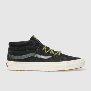 Vans Black Sk8-Mid Reissue Ghillie Mens Trainers