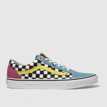 Vans Multi Old Skool Crazy Check Mens Trainers