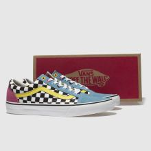 Vans old skool crazy check 1