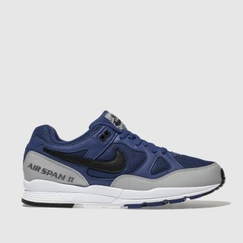 Nike Blue Air Span Ii Mens Trainers