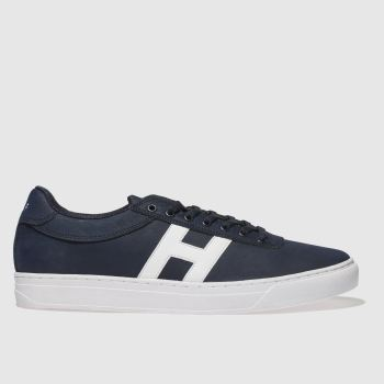HUF NAVY & WHITE SOTO TRAINERS