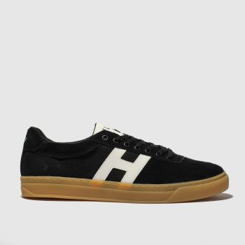 Huf Black & White Soto Mens Trainers