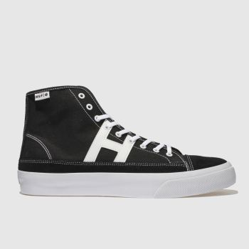 Huf Black & White HUPPER 2 HI Trainers