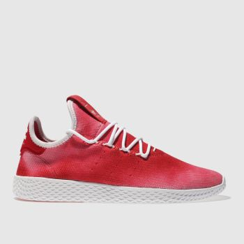 Adidas Red Tennis Pharrell Hu Holi Mens Trainers