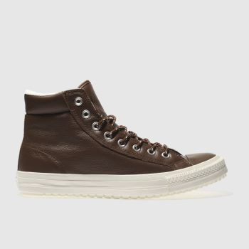 Converse Brown All Star Boot Pc Hi Mens Trainers