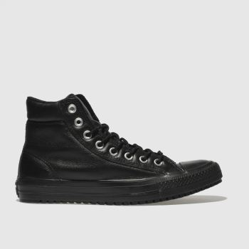 CONVERSE BLACK ALL STAR BOOT PC HI TRAINERS