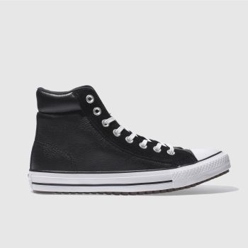 CONVERSE BLACK & WHITE ALL STAR BOOT PC HI TRAINERS