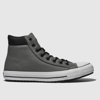 Converse Grey & Black All Star Boot Pc Hi Mens Trainers