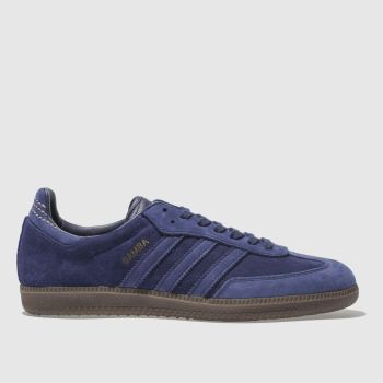 Adidas Blue SAMBA FB Trainers