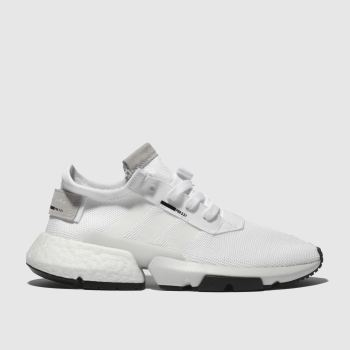 Adidas White Pod S3.1 Mens Trainers