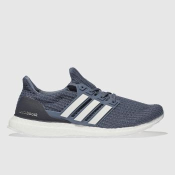 Adidas Navy & White Ultraboost Mens Trainers