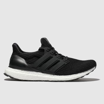 adidas black ultraboost trainers