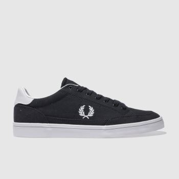Fred Perry Navy Deuce Mens Trainers