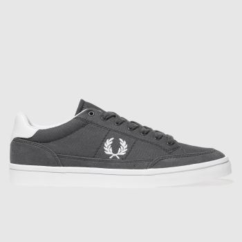 Fred Perry Dark Grey Deuce Mens Trainers