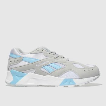 Reebok Light Grey Aztrek Mens Trainers