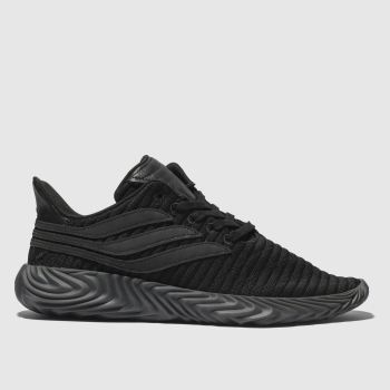 Adidas Black Sobakov Mens Trainers