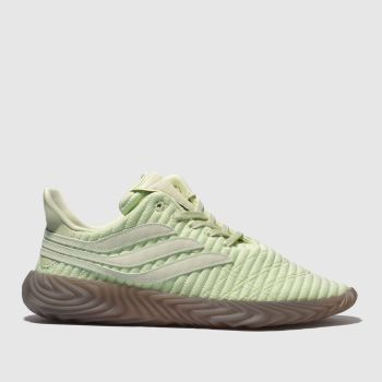 wholesale dealer eb85f 671b2 Adidas Light Green Sobakov Mens Trainers