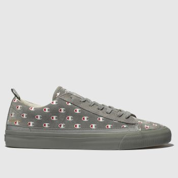 Champion Grey Mercury Low Mens Trainers
