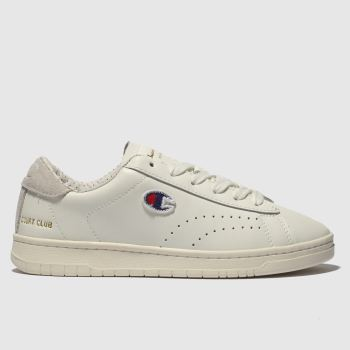 Champion White Court Club Mens Trainers