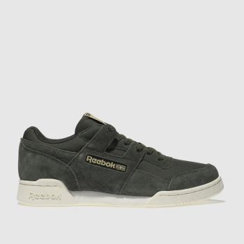 Reebok Khaki Workout Plus Ripstop Mens Trainers