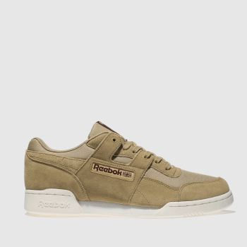 Reebok Tan Workout Plus Ripstop Mens Trainers