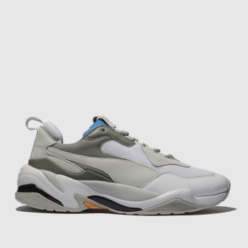 Puma Light Grey Thunder Spectra Mens Trainers