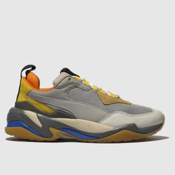 Puma Grey Thunder Spectra Mens Trainers