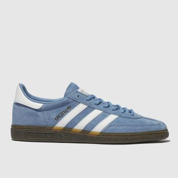 Adidas Pale Blue Handball Spezial c2namevalue::Mens Trainers