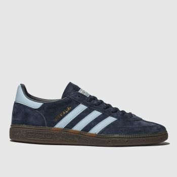 adidas Navy & Pl Blue Handball Spezial Mens Trainers#