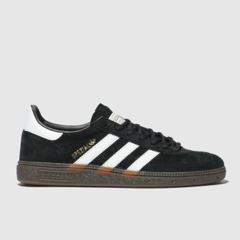 Adidas Black & White Handball Spezial Mens Trainers