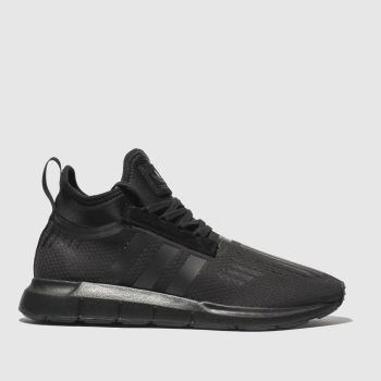 Adidas Black Swift Run Barrier Mens Trainers