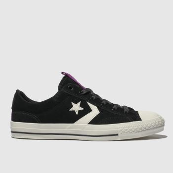 Converse Black & White Star Player Ox Mens Trainers