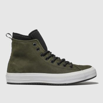 Converse Khaki All Star Utility Draft Boot Hi Mens Trainers