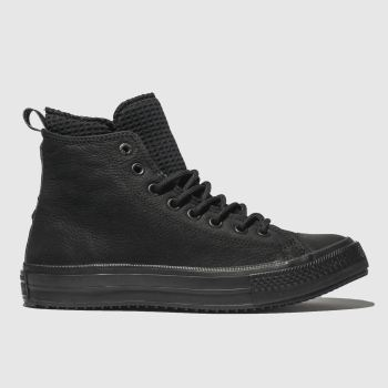 Converse Black All Star Utility Draft Boot Hi Mens Trainers