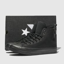 73ebf831b553 mens black converse all star utility draft boot hi trainers
