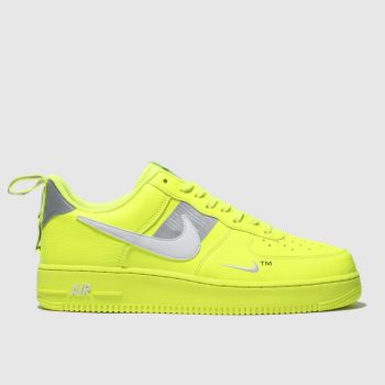 Nike Yellow Air Force 1 07 Lv8 Utility Mens Trainers