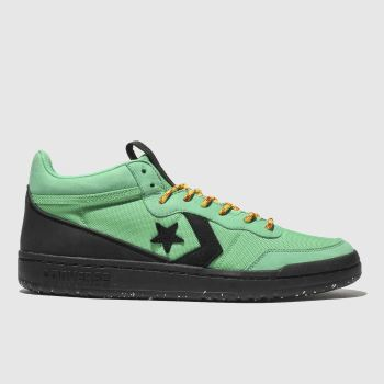 Converse Green Fastbreak Mid Mens Trainers