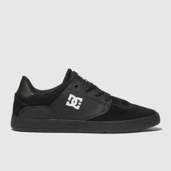 Dc Shoes Black & White Plaza Tc Mens Trainers