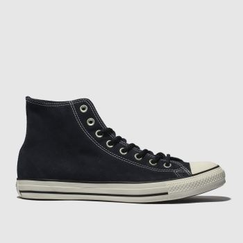 Converse Navy All Star Base Camp Hi Mens Trainers