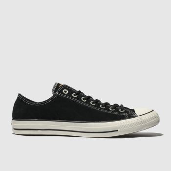 Converse Black All Star Base Camp Ox Mens Trainers