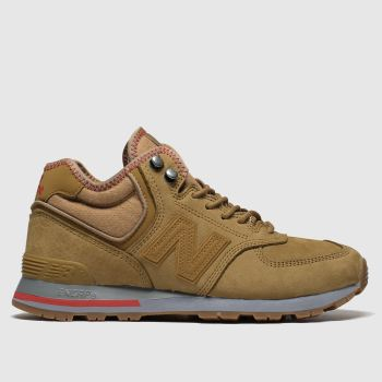 New Balance Brown 574 Mens Trainers