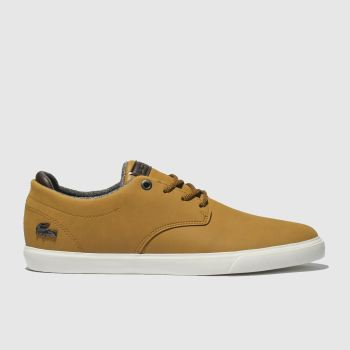 Lacoste Tan Esparre Mens Trainers