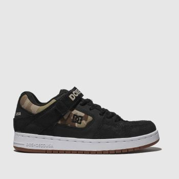 Dc Shoes Black Manteca V Se Mens Trainers