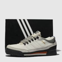 low priced ed68e c0177 adidas skateboarding white jake boot 2.0 low trainers