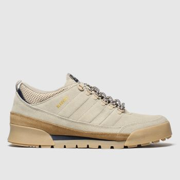 Adidas Skateboarding Beige & Brown Jake Boot 2.0 Low Mens Trainers